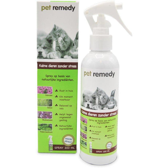 Pet Remedy Spray Hond & Kat - Dierplezier.nl