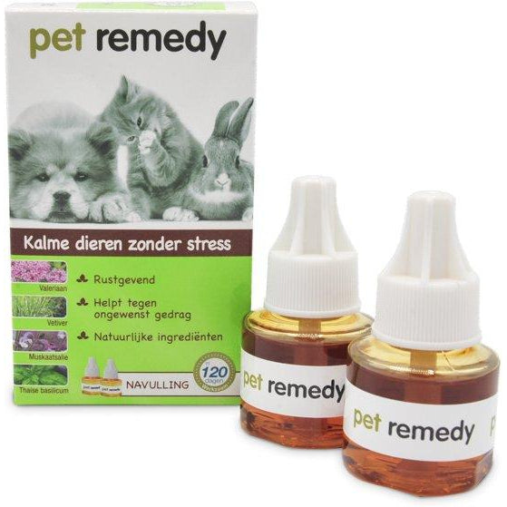 Pet Remedy Verdamper Navulling (2x 40ml) - Dierplezier.nl