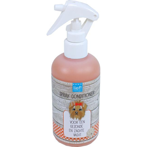 Spray conditioner honden