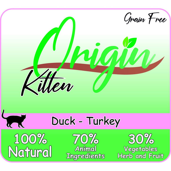 ORIGIN KITTEN DUCK TURKEY - Dierplezier.nl