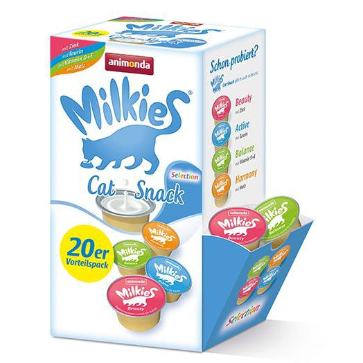 Milkies Display Selection  4x 20 Stuks