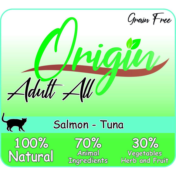 ORIGIN CAT ADULT SALMON TUNA - Dierplezier.nl
