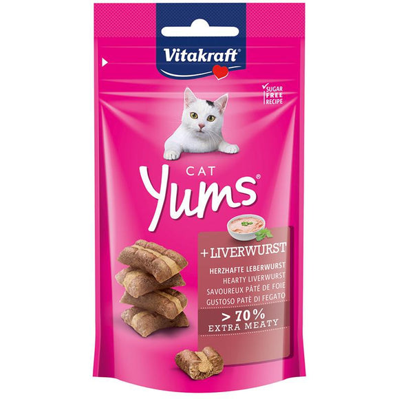 Cat Yums met leverworst