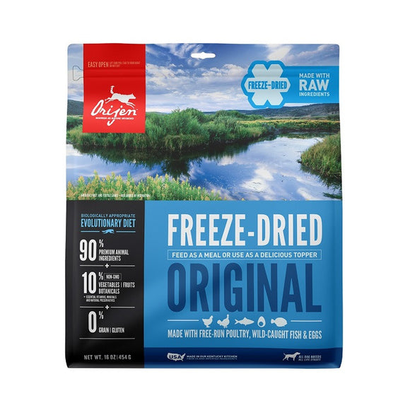Orijen Freeze-Dried Original Dog - Dierplezier.nl