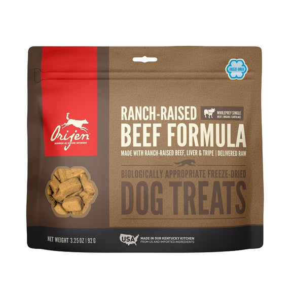 Orijen Treats Dog Angus beef