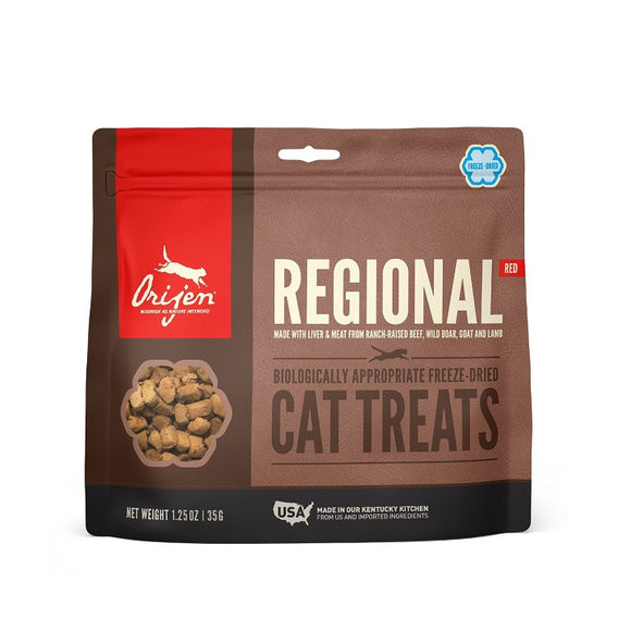 Orijen treats cat Regional Red - Dierplezier.nl