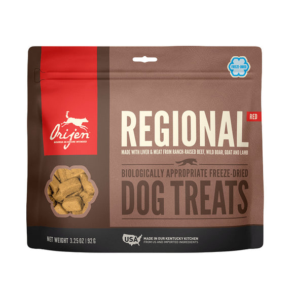 Orijen Treats Dog Regional Red - Dierplezier.nl