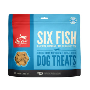 Orijen Treats Dog 6 fish - Dierplezier.nl
