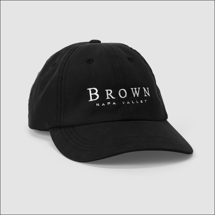 BROWN Napa Valley Baseball Cap