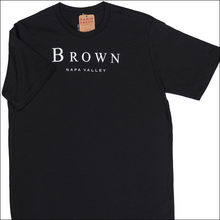 Load image into Gallery viewer, BROWN Napa Valley Men's Crew Neck T-shirt