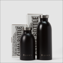Load image into Gallery viewer, BROWN Napa Valley 24 Clima Water Bottles