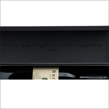 Load image into Gallery viewer, BROWN Napa Valley Custom Wine Box {750ml or 1.5L}