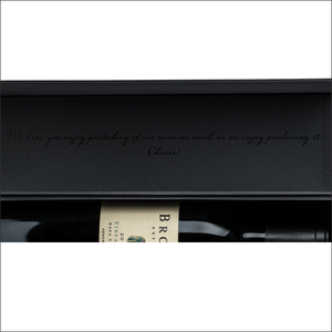 BROWN Napa Valley Custom Wine Box {750ml or 1.5L}