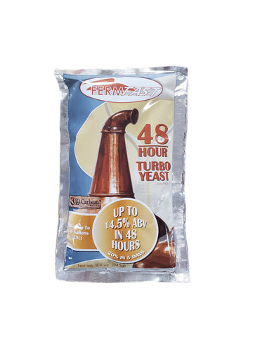 FermFast 48 Hour Turbo Yeast 253 Gram (UREA FREE)