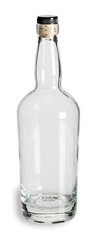 Tennessee Liquor Bottle with Synthetic T-Top Cork (LG)