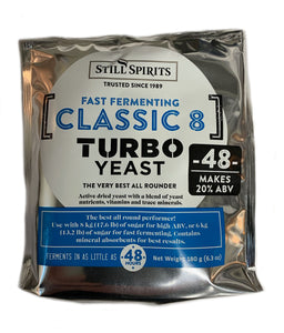 Still Spirits Turbo Yeast Classic 8 (48 hour)