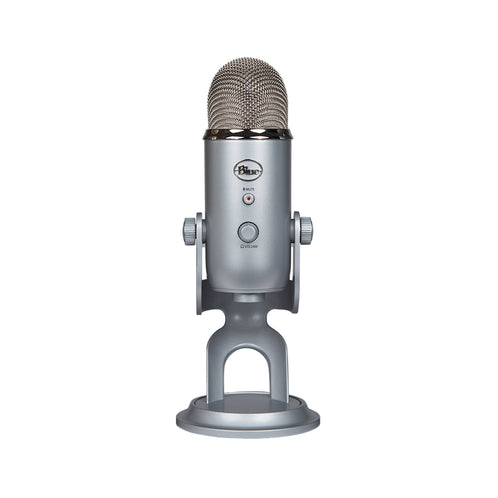 Blue Microphones Yeti USB Microphone, Silver