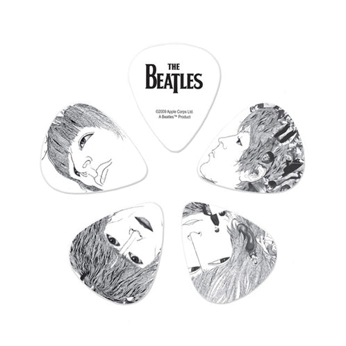 D'Addario Beatles Guitar Picks, Revolver, 10 pack, Heavy
