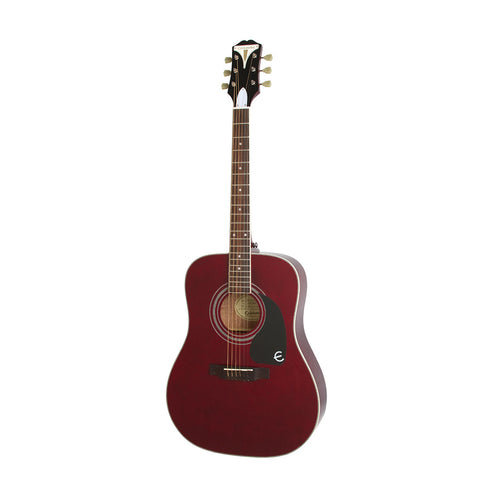 Epiphone PRO-1 PLUS Acoustic Guitar, Wine Red