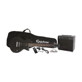 Epiphone Les Paul Electric Guitar Performance Pack, Ebony