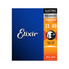 Elixir 12102 Nanoweb Electric Guitar Strings 11-49