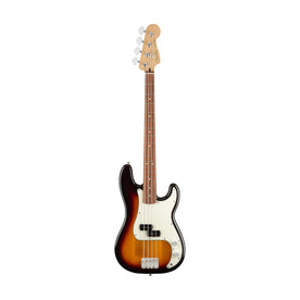 Fender Player Precison Bass Guitar, Pau Ferro FB, 3-Tone Sunburst