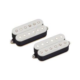 Fishman Fluence Classic Humbucker 6-String Pickup Set, Open Core White
