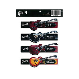 Gibson Guitar Sticker Pack