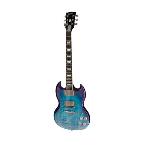 Gibson 2019 SG High Performance Electric Guitar, Blueberry Fade