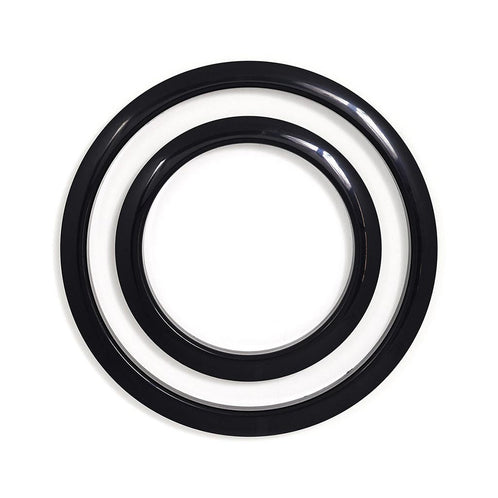Gibraltar SC-GPHP-5B 5inch Port Hole Protector Ring, Black