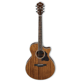 Ibanez AE245-NT Acoustic Guitar, Natural High Gloss