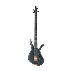 Ibanez Premium Affirma AFR4FMP-TGF Electric Bass Guitar, Transparent Grey Flat