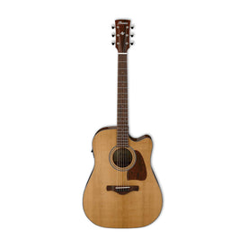 Ibanez AVD9CE-NT Artwood Vintage Thermo Aged Acoustic Guitar w/Electronics, Natural