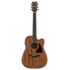 Ibanez AW54CE-OPN Artwood Acoustic Guitar, Open Pore Natural