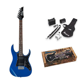 Ibanez IJRG200E-BL Electric Guitar Jump Start Package, Blue