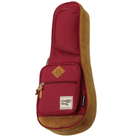 Ibanez IUBS541-WR Powerpad Designer Collection Soprano Ukulele Bag, Wine Red