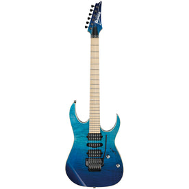 Ibanez RG6PCMLTD-BRG Premium Electric Guitar w/Case, Blue Reef Gradation