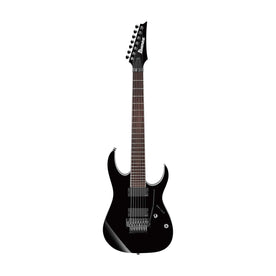 Ibanez RGIR27E-BK Iron Label 7-String Electric Guitar, Black