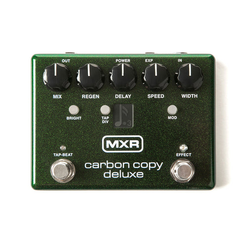 MXR M292 Carbon Copy Deluxe Guitar Effects Pedal
