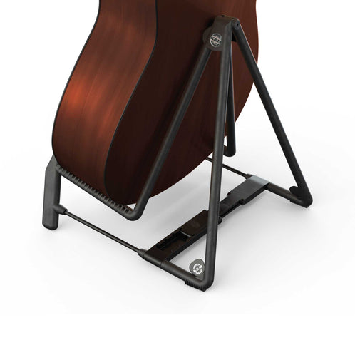 K&M 17580-014-95 Heli 2 Acoustic Guitar Stand - Cork