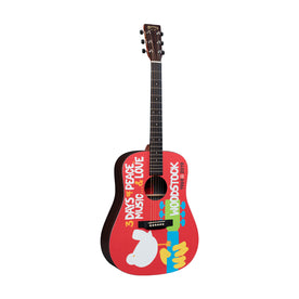 Martin X Series DX Woodstock 50th Acoustic Guitar