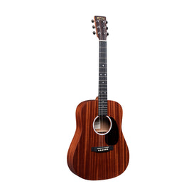 Martin Junior Series DJr-10E-01 Sapele Top Acoustic Guitar w/Bag