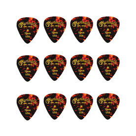 Martin 18A0051 Faux Tortoise 351 Heavy Guitar Picks, .96mm, 12-Pack