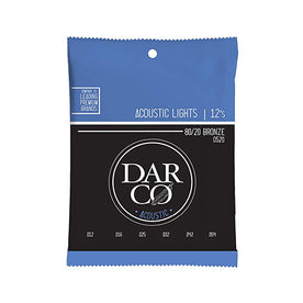 Martin Darco 80/20 Acoustic Guitar Strings, Light