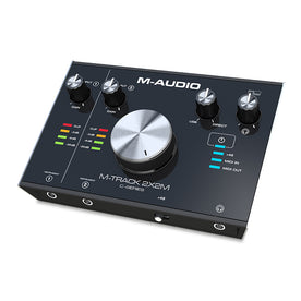 M-Audio Mtrack 2X2M Two Simultaneous channel USB Interface with 24-bit/192kHz Resolution
