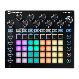 Novation Circuit 2-Part Synthesizer w/ A 4x8 RGB Velocity-Sensitive Grid Sequencer