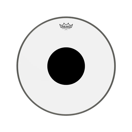 Remo CS-0318-10 18inch Batter Controlled Sound Clear Black Dot Top Drum Head