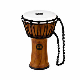MEINL Percussion JRD-TA 7inch Jr. Djembe, Twisted Amber