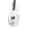 Sterling S.U.B Series RAY4 4-String Electric Bass Guitar, RW FB, Vintage Cream