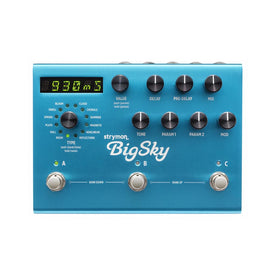 Strymon BigSky Reverb Guitar Effects Pedal